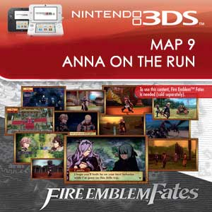 Comprar Fire Emblem Fates Map 9 Anna on the Run 3DS Descargar Código Comparar precios