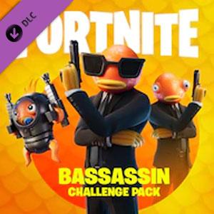 Fortnite Bassassin Challenge Pack