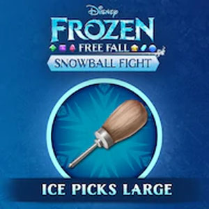 Frozen Free Fall Snowball Fight Large Pack of Ice Picks