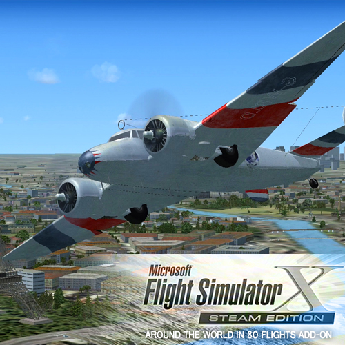 Comprar FSX Steam Edition Around The World In 80 Flights Add-On CD Key Comparar Precios