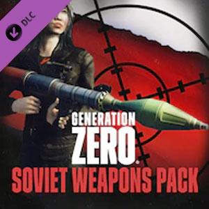Generation Zero Soviet Weapons Pack