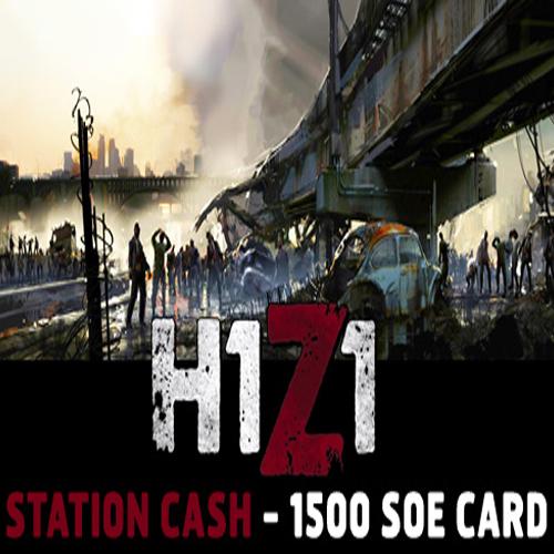Comprar H1Z1 Station Cash 1500 SoE Tarjeta Prepago Comparar Precios