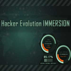 Comprar Hacker Evolution IMMERSION CD Key Comparar Precios