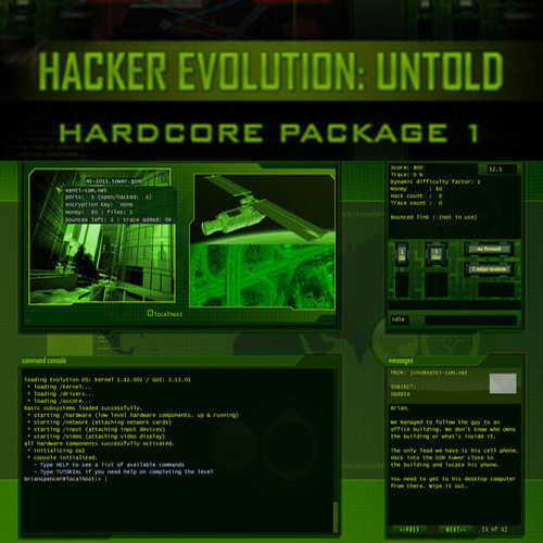 Comprar Hacker Evolution Untold Hardcore Package 1 CD Key Comparar Precios