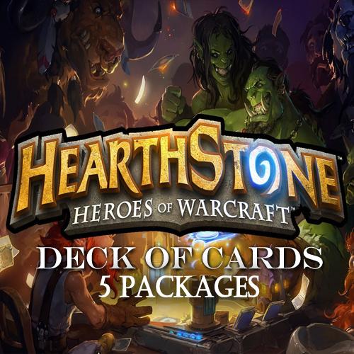 Comprar Hearthstone Deck Of Cards Pack 5 Tarjeta Prepago Comparar Precios