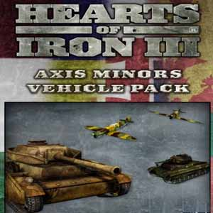Comprar Hearts of Iron 3 Axis Minor Vehicle Pack CD Key Comparar Precios
