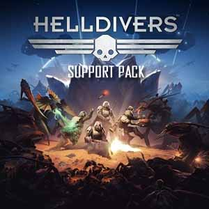 Comprar HELLDIVERS Support Pack CD Key Comparar Precios