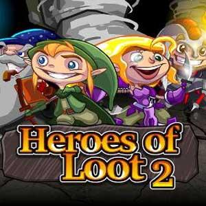 Comprar Heroes of Loot 2 CD Key Comparar Precios