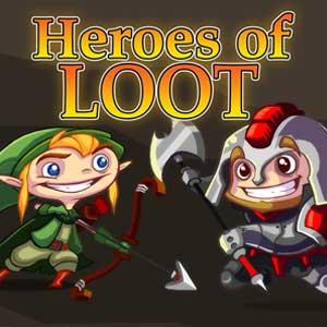 Comprar Heroes of Loot CD Key Comparar Precios