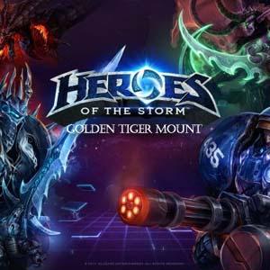 Comprar Heroes of the Storm Golden Tiger Mount CD Key Comparar Precios