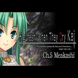 Comprar Higurashi When They Cry Hou Ch.5 Meakashi CD Key Comparar Precios