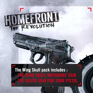 Comprar Homefront The Revolution Wing Skull Pack PS4 Code Comparar Precios