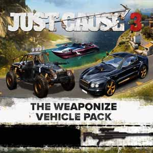 Comprar Just Cause 3 Weaponized Vehicle Pack CD Key Comparar Precios