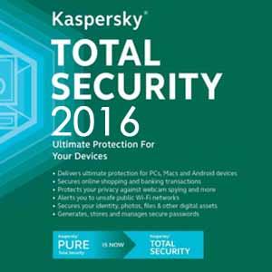 Comprar Kaspersky Total Security 2016 CD Key Comparar Precios