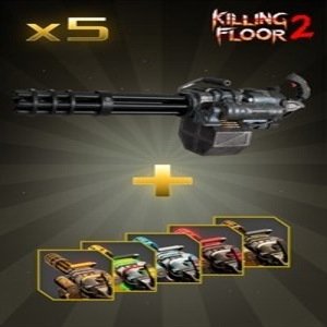 Killing Floor 2 Minigun Weapon Bundle