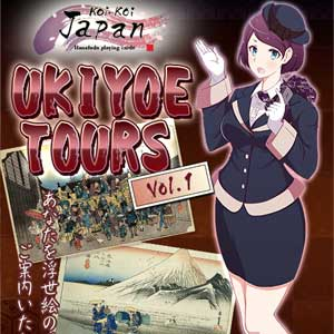 Koi-Koi Japan UKIYOE tours Vol.1