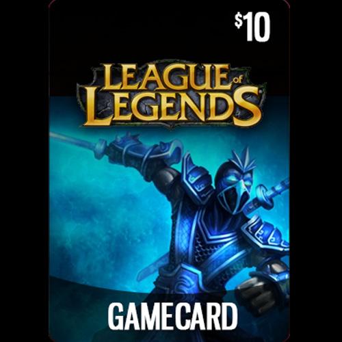 Comprar League Of Legends 10 USD Prepaid RP Cards US Tarjeta Prepago Comparar Precios