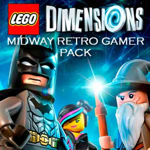 Comprar LEGO Dimensions Midway Retro Gamer Pack CD Key Comparar Precios