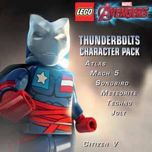 Comprar LEGO Marvels Avengers Thunderbolts Character Pack CD Key Comparar Precios