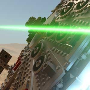 Batalla en Star wars the Force Awakens
