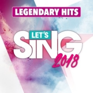 LETS SING 2018 LEGENDARY HITS SONG PACK