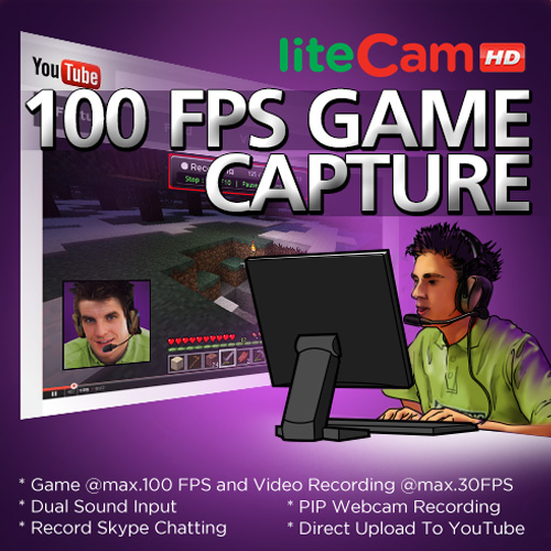 Comprar liteCam Game 100 FPS Game Capture CD Key Comparar Precios