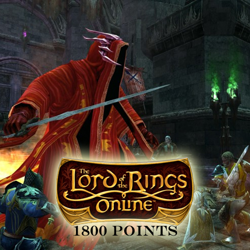 Comprar Lord of the Rings Online 1800 Turbine Puntos Tarjeta Prepago Comparar Precios
