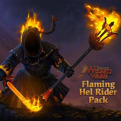 Comprar Magicka Wizard Wars Flaming Hel Rider Pack DLC CD Key Comparar Precios