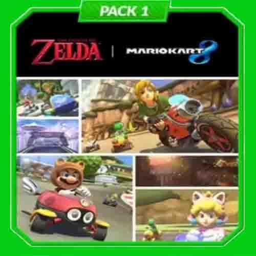 Comprar Mario Kart 8 Pack 1 Zelda Nintendo Wii U Descargar Código Comparar precios