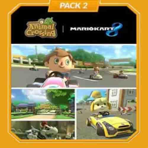 Comprar Mario Kart 8 Pack 2 Animal Crossing Nintendo Wii U Descargar Código Comparar precios