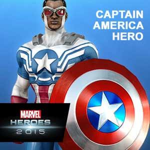 Comprar Marvel Heroes 2015 Captain America Hero CD Key Comparar Precios