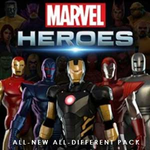 Comprar Marvel Heroes 2016 All-New All-Different Pack CD Key Comparar Precios