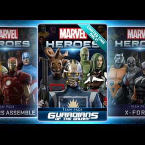 Comprar Marvel Heroes 2016 Guardians of the Galaxy Team Pack CD Key Comparar Precios