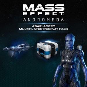 Comprar Mass Effect Andromeda Asari Adept Multiplayer Recruit Pack Xbox One Barato Comparar Precios