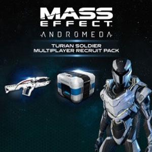 Comprar Mass Effect Andromeda Turian Soldier Multiplayer Recruit Pack Xbox Series Barato Comparar Precios