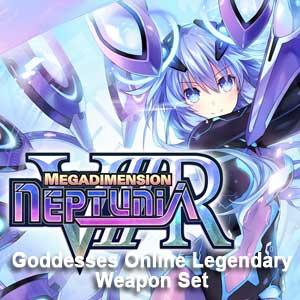 Megadimension Neptunia VIIR 4 Goddesses Online Legendary Weapon Set