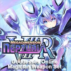 Megadimension Neptunia VIIR 4 Goddesses Online Magician Weapon Set
