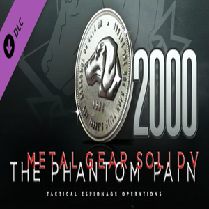 METAL GEAR SOLID 5 THE PHANTOM PAIN MB Coin 2000