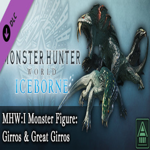 MHWI Monster Figure Girros & Great Girros