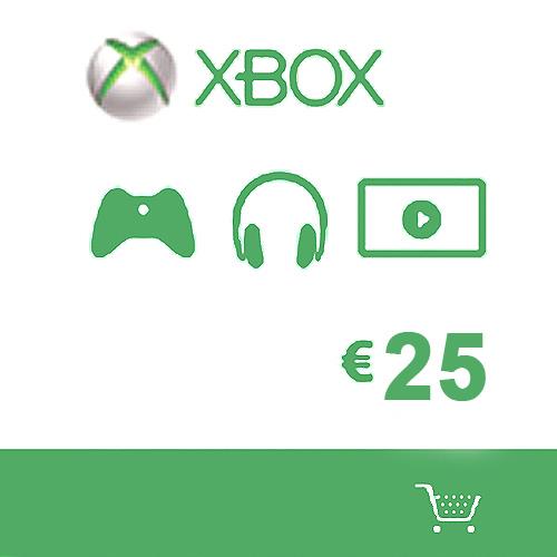 Comprar Microsoft Gift Card 25 Euro Xbox Live Code Comparar Precios