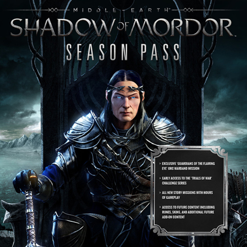 Comprar Middle Earth Shadow of Mordor Season Pass Xbox One Code Comparar Precios