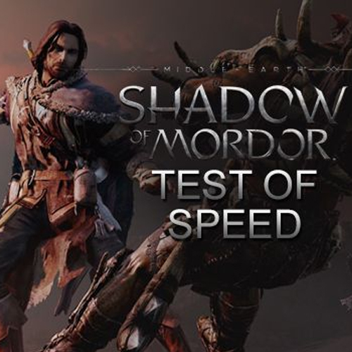 Comprar Middle-earth Shadow of Mordor Test of Speed CD Key Comparar Precios