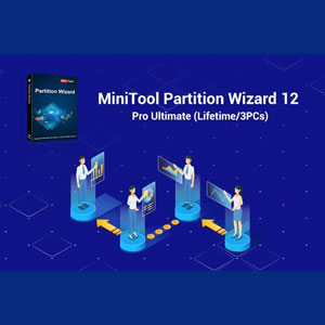 MiniTool Partition Wizard 12 Pro