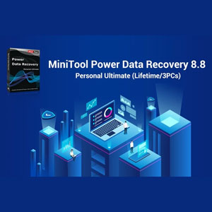 MiniTool Power Data Recovery 8.8 Personal