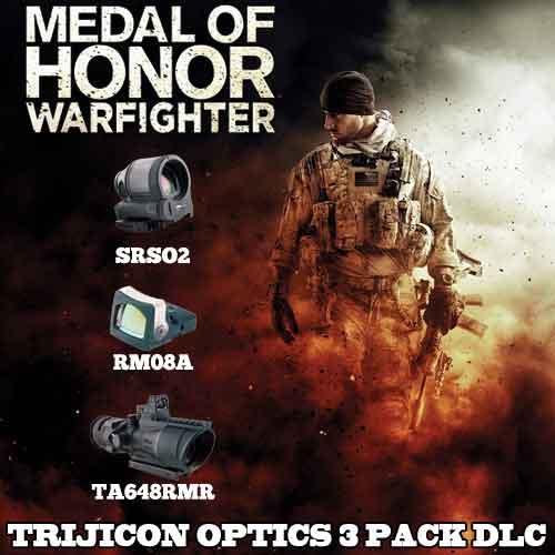 Comprar clave CD Medal of Honor Warfighter DLC Trijicon Optics 3 Pack y comparar los precios