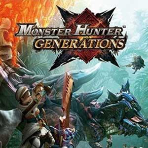 Comprar Monster Hunter Generations Nintendo 3DS Descargar Código Comparar precios