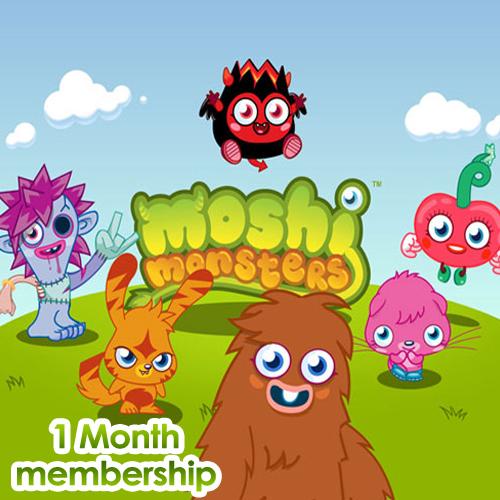 Comprar Moshi Monsters 1 Mes Memberships Tarjeta Prepago Comparar Precios
