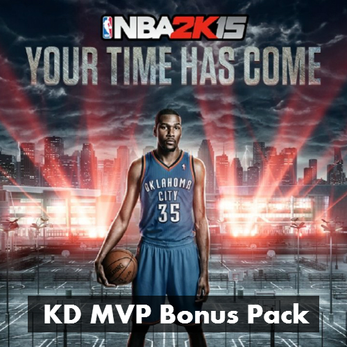NBA 2K15 KD MVP Bonus Pack