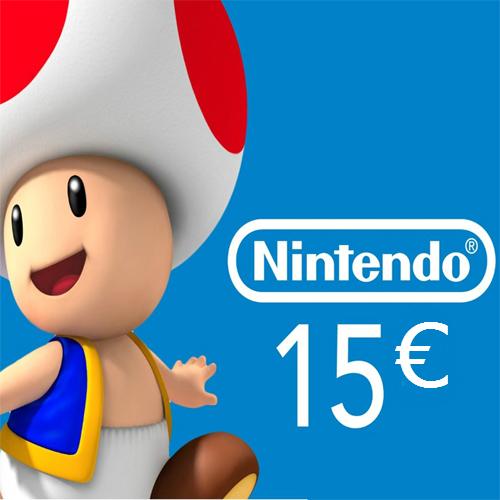 Comprar Tarjeta Nintendo eShop 15 Euro Comparar Precios