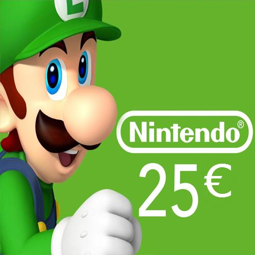 Comprar Tarjeta Nintendo eShop 25 Euro Comparar Precios